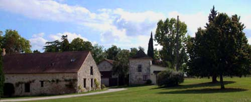Domaine de P�montier - Farmhouse holiday accommodation in South-West France